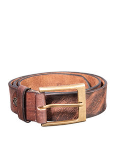 Khadim's Brown Formal Leather Belt