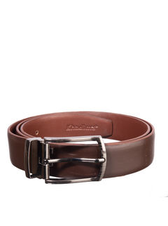 Khadim's Brown Office Leather Belt