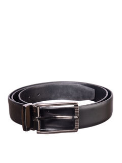 Khadim's Black Formal Leather Belt