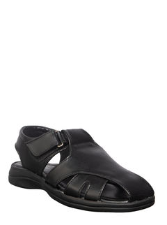 Khadim's Black Casual Fisherman Sandal
