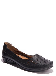 Sharon Black Casual Ballerina Shoe