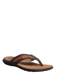 Khadim's Brown Casual Outdoor Slipper