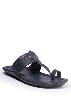 Khadim's Lazard Men Navy Ethnic Dress Sandal