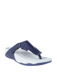 Khadim's Navy Casual Strap-On Sandal