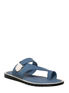 Khadim's Blue Casual Dress Slipper