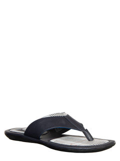 Khadim's Navy Casual Dress Slipper