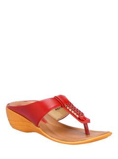 Khadim's Cherry Casual Slip-On Sandal