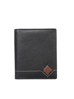 Khadim's Men Black Notecase Wallet