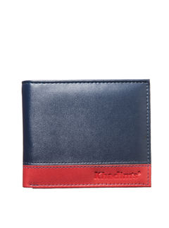 Khadim's Men Navy Single-fold Wallet