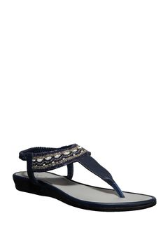Cleo Navy Lifestyle Strap-On Sandal