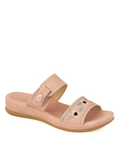 Sharon Pink Casual Strap-On Sandal