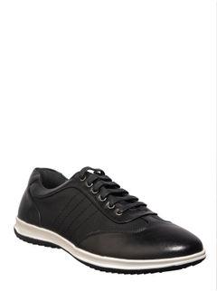 Lazard Men Black Lifestyle Oxford Shoe