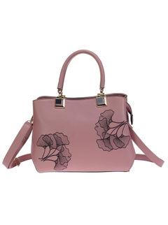 Khadim's Pink Tote Sling Bag
