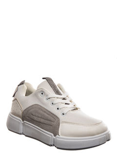 Pro White Casual Dress Sneakers