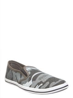 Pro Men Grey Casual Slip-On Shoe