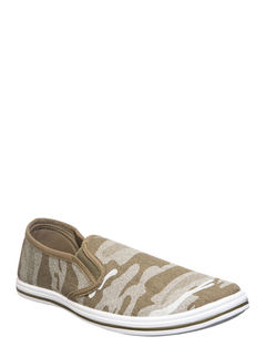 Pro Men Olive Casual Slip-On Shoe