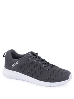 Pro Men Grey Sports Activity Sneakers