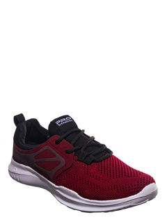 Pro Maroon Casual Dress Sneakers
