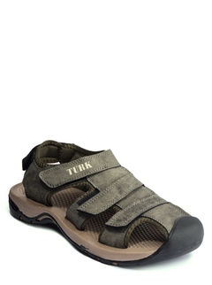 Turk Olive Casual Strap-On Sandal