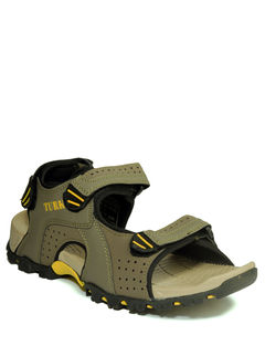 Turk Olive Casual Floater Sandal