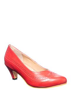 Sharon Cherry Casual Ballerina Shoe