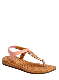 Cleo Pink Lifestyle Strap-On Sandal