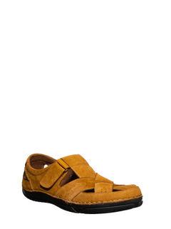 British Walkers Men Tan Lifestyle Dress Sandal