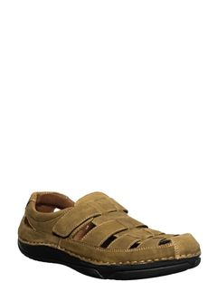 British Walkers Men Olive Lifestyle Dress Sandal