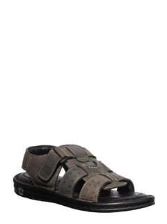 British Walkers Men Grey Casual Sandal