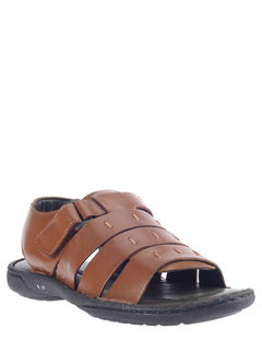 British Walkers Brown Lifestyle Mule Sandal
