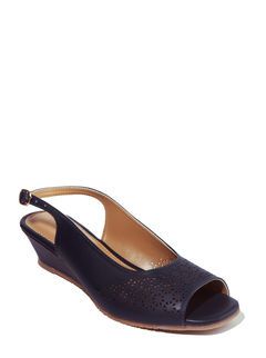 Sharon Navy Lifestyle Mule Sandal