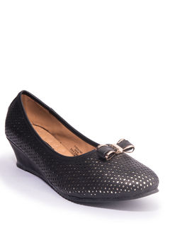 Khadim's Cleo Women Black Casual Ballerina Shoe