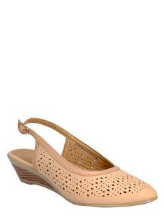 Sharon Beige Casual Strap-On Sandal