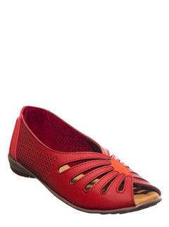 Sharon Cherry Casual Slip-On Sandal