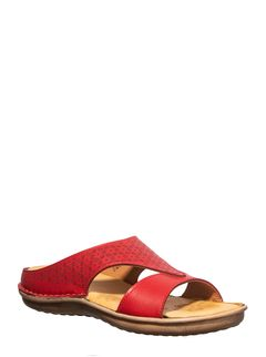 Softouch Cherry Casual Slip-On Sandal
