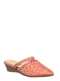 Cleo Pink Casual Clog Sandal