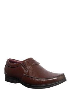Khadim Brown Formal Slip-On Shoe