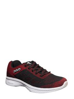 Pro Men Maroon Sports Activity Sneakers