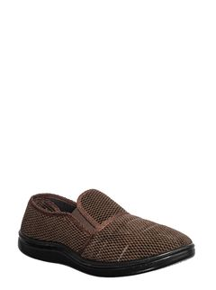 Khadim's Brown Casual Slip-On Sneakers