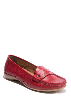 Sharon Cherry Casual Loafer Shoe
