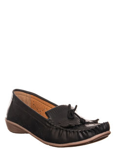 Sharon Black Casual Loafer Shoe