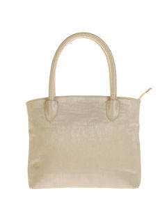 Khadim's White Tote Handbag
