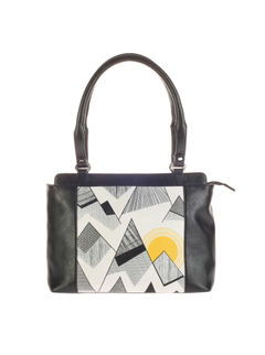 Khadim's Multicolour Tote Shoulder Bag