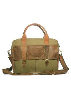Khadim Men Olive Laptop Bag