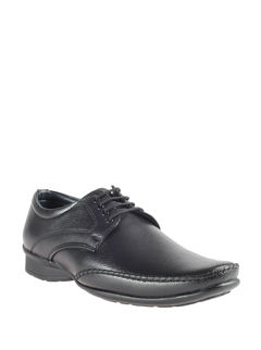 Khadim's Black Formal Derby Shoe
