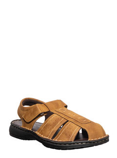 Softouch Men Tan Lifestyle Dress Sandal