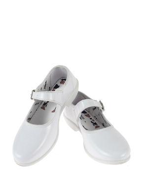 Schooldays Girl White Formal Mary Jane Shoe