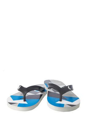 Khadim's Men Blue Casual Outdoor Flip-Flop