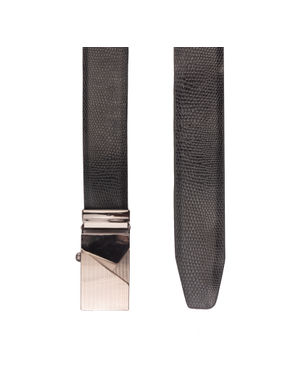 Khadim's Black Office Leather Belt