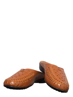 Sharon Brown Casual Clog Sandal